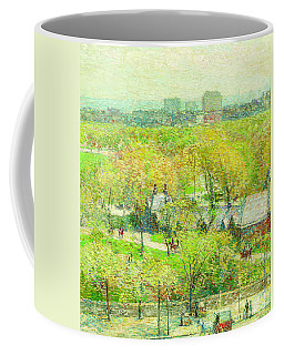 Across The Park Coffee Mug