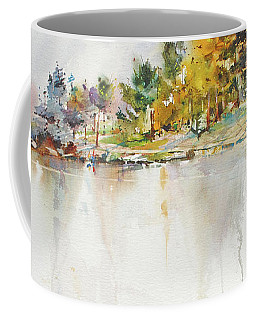Across The Pond Coffee Mug