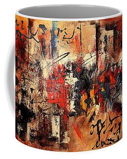 Acrylic Abstraction-an Urban Theme#1 Coffee Mug