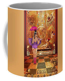 Act 4 Circus Pipe Dreams Alice In A Wonderland Coffee Mug