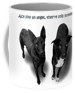 Act Like An Angel Coffee Mug