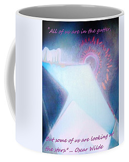 Coffee Mug featuring the painting Act Of Creation by Denise Fulmer