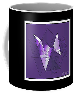 Coffee Mug featuring the digital art Actions #2 by Iris Gelbart