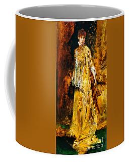Actress Sarah Bernhardt 1881 Coffee Mug