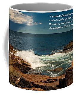 Acts 2 25-26 Coffee Mug