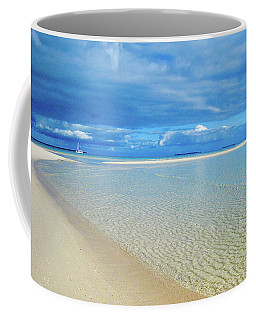 Adagio Alone In Ouvea, South Pacific Coffee Mug