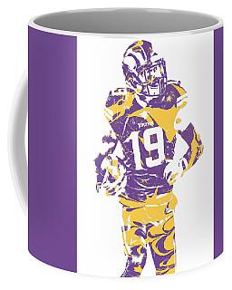 Adam Thielen Minnesota Vikings Pixel Art 2 Coffee Mug