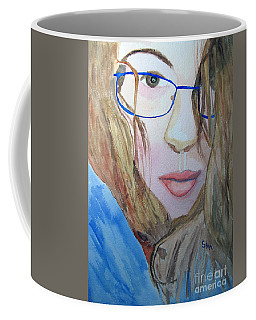 Addie In Blue Coffee Mug