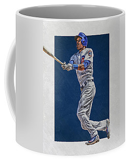 Addison Russell Chicago Cubs Art Coffee Mug