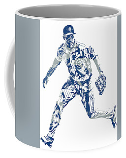 Addison Russell Chicago Cubs Pixel Art 10 Coffee Mug