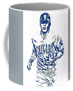 Addison Russell Chicago Cubs Pixel Art 11 Coffee Mug