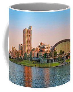 Adelaide Riverbank Panorama Coffee Mug