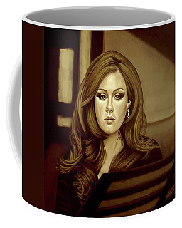 Adele Gold Coffee Mug