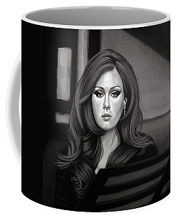 Adele Mixed Media Coffee Mug