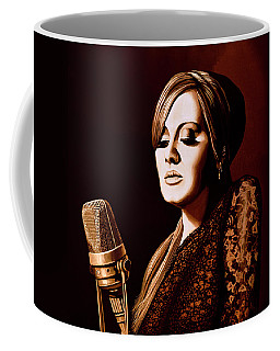Adele Skyfall Gold Coffee Mug
