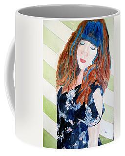 Adelina Coffee Mug by Sandy McIntire