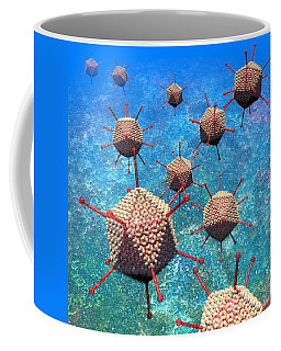 Adenovirus Particles 3 Coffee Mug
