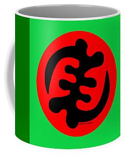 Adinkra Symbol Gye Nyame Except God Only God Coffee Mug
