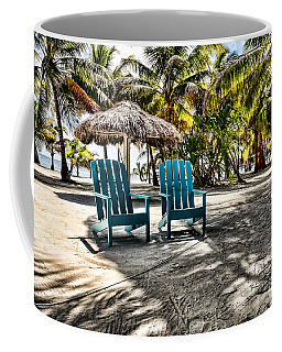 Adirondack Chairs Coffee Mug by Lawrence Burry