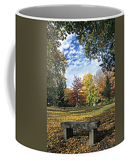 Admin Lawn Bench Coffee Mug