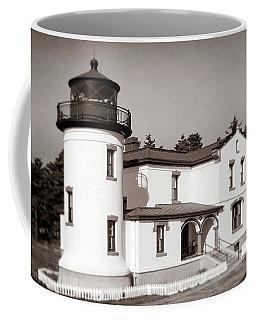 Admiralty Head Lighthouse Vintage Photograph Coffee Mug