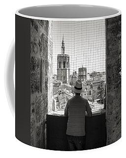 Admiring The Micalet Coffee Mug