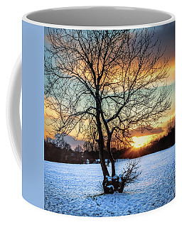 Admiring The Sunet Coffee Mug
