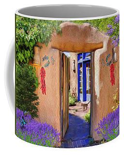 Adobe Door Coffee Mug