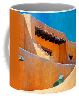 Adobe Levels, Santa Fe, New Mexico Coffee Mug