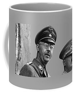 Adolf Hitler And Gestapo Head Heinrich Himmler Watching Parade Of Nazi Stormtroopers 1940-2015 Coffee Mug