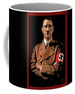 Adolf Hitler Painting Circa  1940 Color Added 2016 Coffee Mug