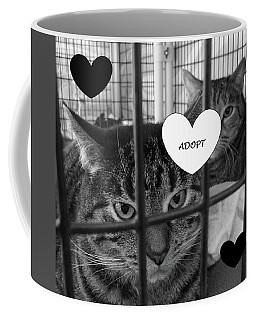Adopt Coffee Mug by Mary Ellen Frazee