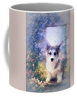 Adorable Corgi Puppy Coffee Mug