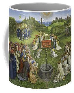 Adoration Of The Mystic Lamb Coffee Mug