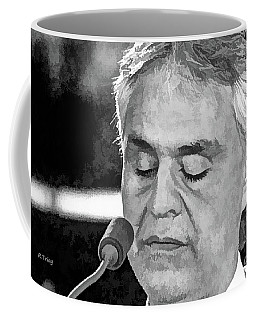 Andrea Bocelli In Concert Coffee Mug