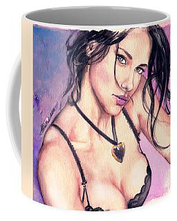 Adriana Lima Coffee Mug