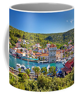 Adriatic Village Of Marina Near Trogir Coffee Mug