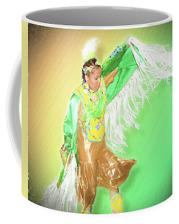 Adult Womens Fancy Shawl, Fine Art Print Coffee Mug by Greg Sigrist
