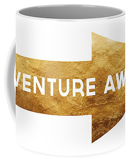 Adventure Awaits- Art By Linda Woods Coffee Mug