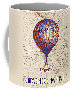 Coffee Mug featuring the photograph Adventure Awaits by Delphimages Photo Creations