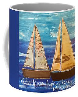 Adventures Begin Coffee Mug
