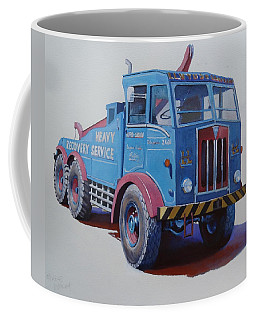 Aec Militant Lloyds Coffee Mug by Mike Jeffries