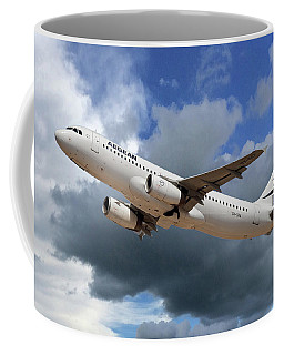 Aegean Airlines Airbus A320-232 Coffee Mug