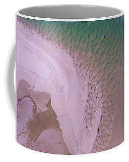 Coffee Mug featuring the photograph Aerial Image Of Noosa River Fine Details by Keiran Lusk