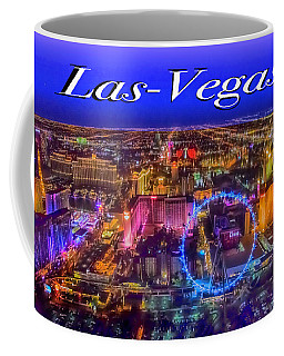 Aerial Las- Vegas Evening Coffee Mug
