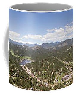 Aerial Pano Of Evergreen Coffee Mug