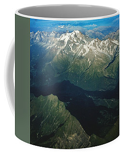 Aerial Photograph Of The Swiss Alps Coffee Mug