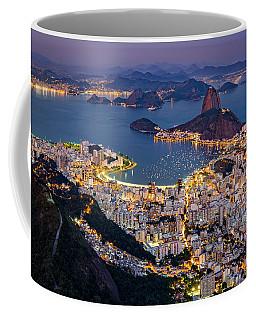 Coffee Mug featuring the photograph Aerial Rio by Mihai Andritoiu