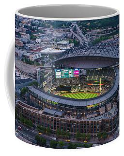 Aerial Seattle Safeco Field Mariners Coffee Mug