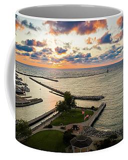 Aerial Sunrise Sep 9 2017 Coffee Mug